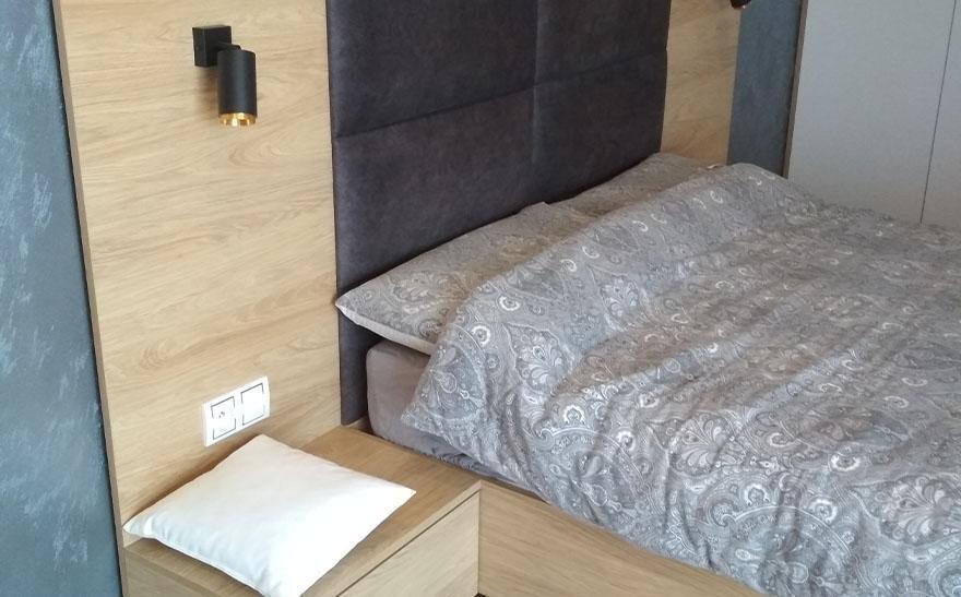 Łóżka, komody